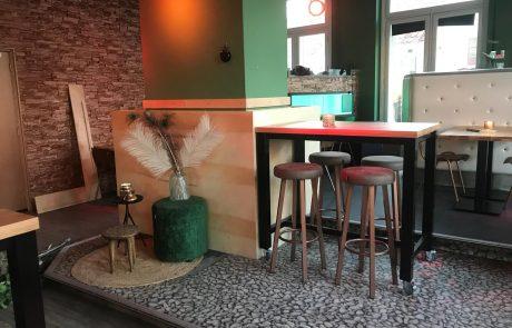 Interieur grand café Fiji
