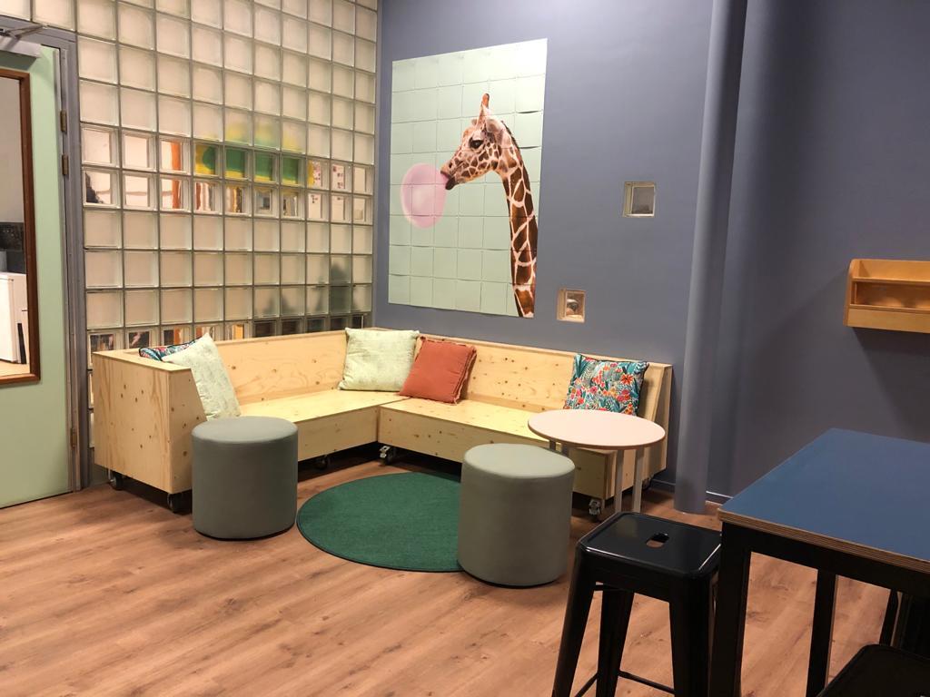 Interieur Korein Kinderplein