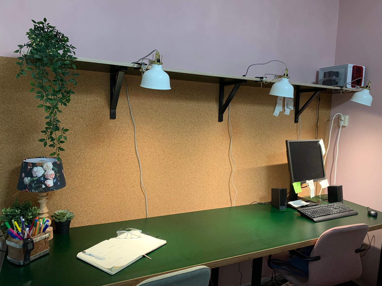 Interieur kantoor Zuivelhoeve