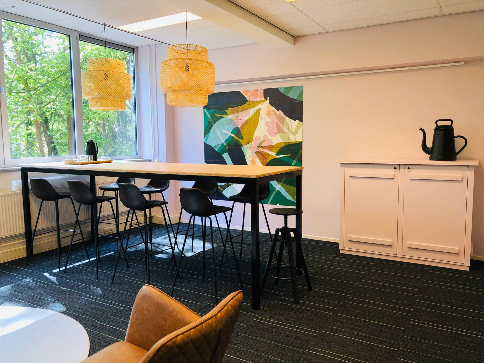 Interieur kantoorruimte Conexus