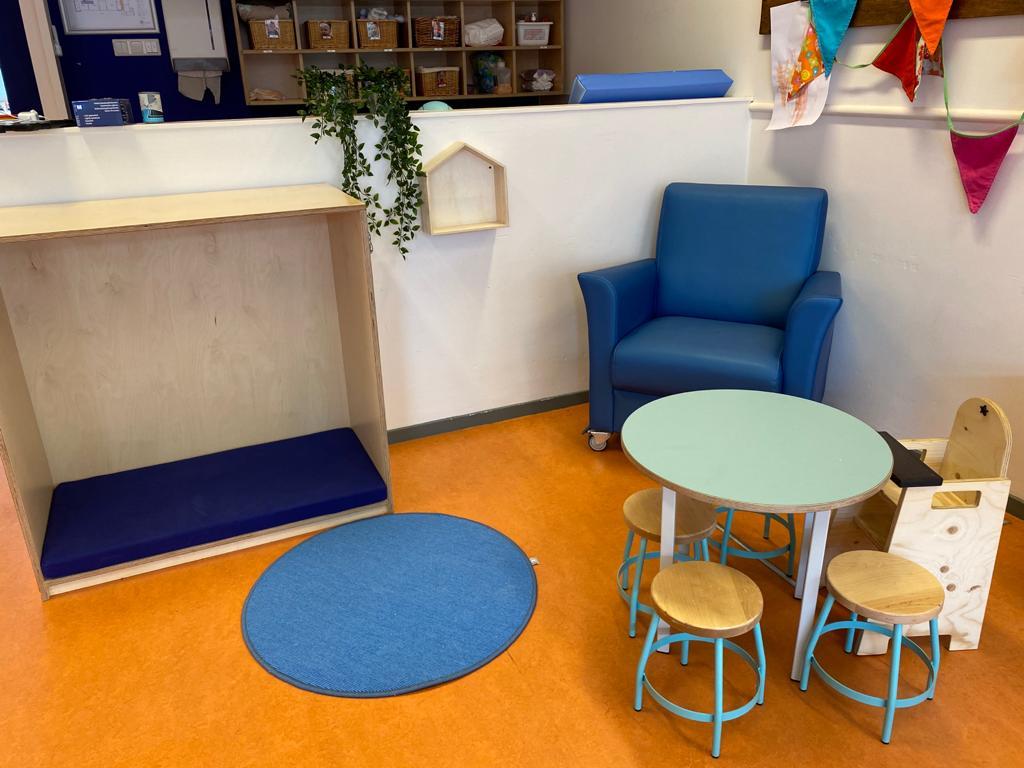 Interieur kinderdagverblijf Bladerrijk