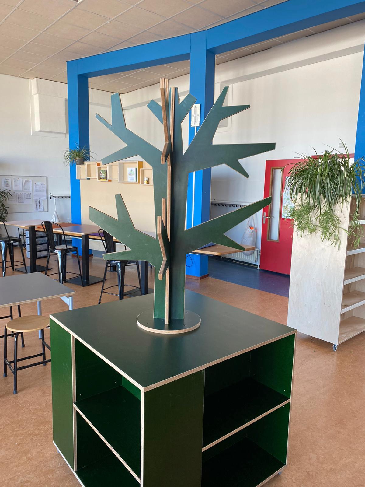 Interieur basisschool de Parel