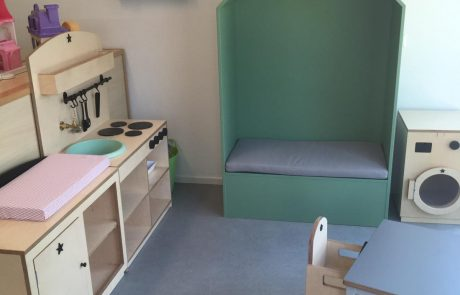 Interieur kinderdagverblijf Toverfontein