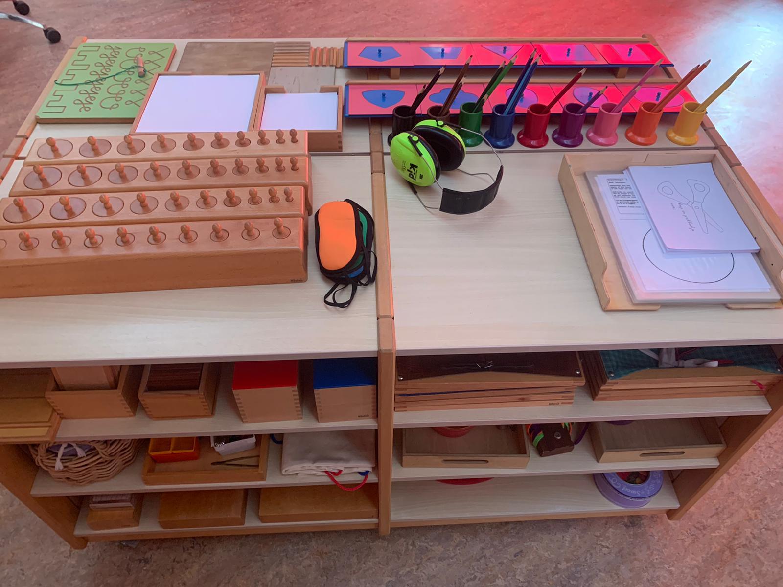 Interieur montessorischool Wij de Wereld