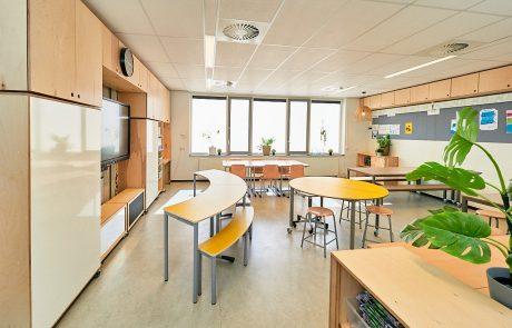 Onderwijs interieur De Beleving IKC De Boomgaard