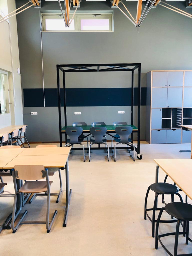 Interieur basisschool Roombeek