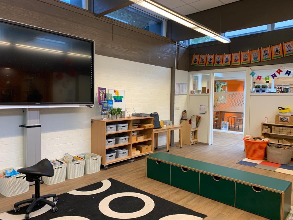 Interieur basisschool Wereldwijs