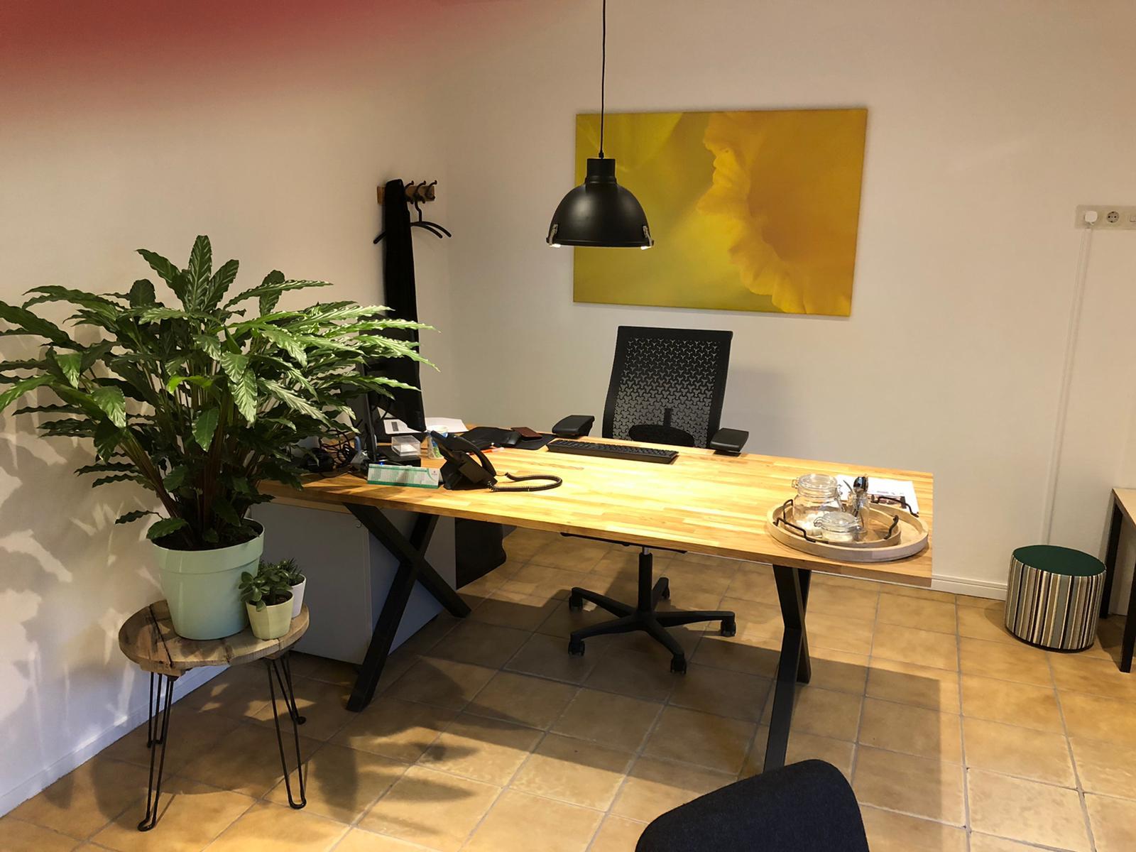 Interieur kantoor De Veldrakker