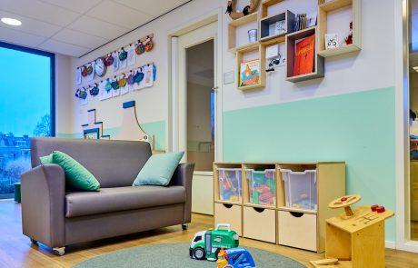 Interieur kinderdagverblijf Kwebbel
