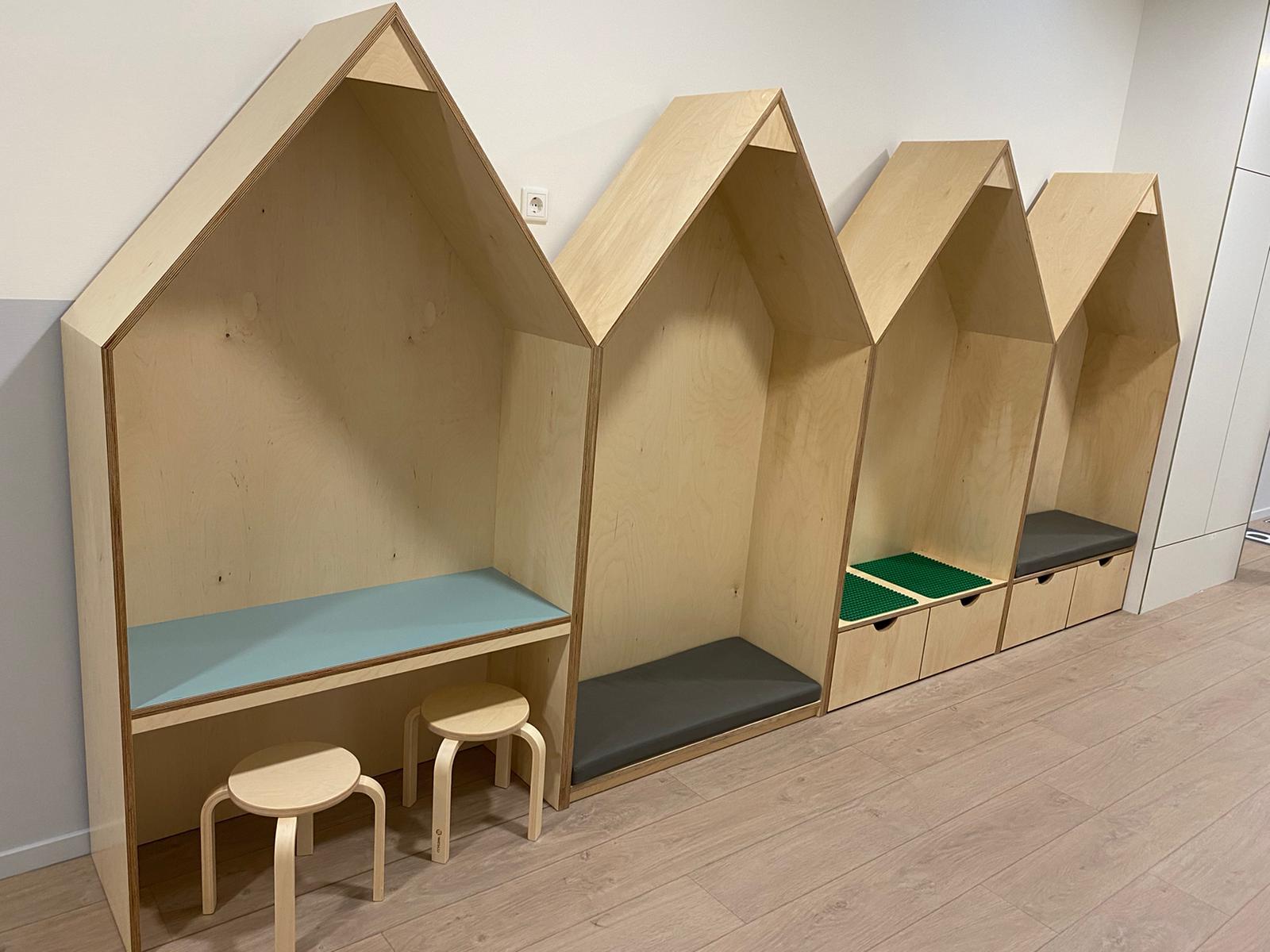 Interieur kinderdagverblijf Klimop
