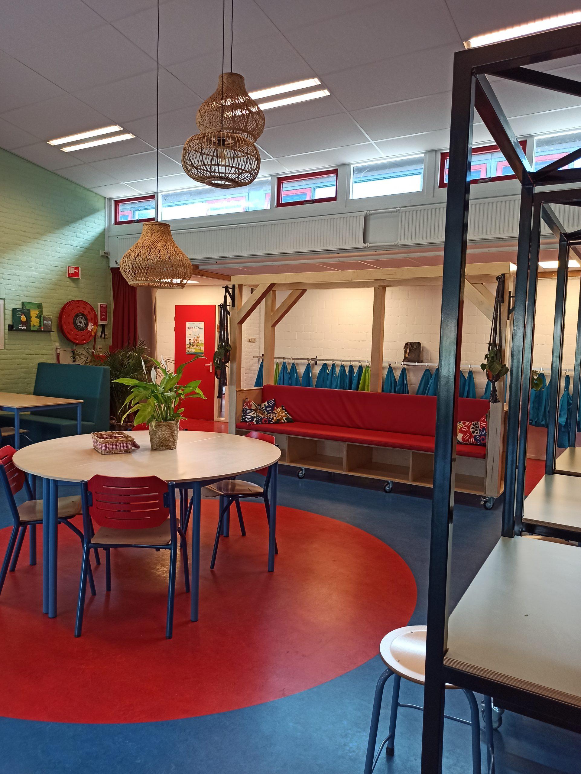 nterieur leerplein Burgemeester Westerbeek van Eertenschool