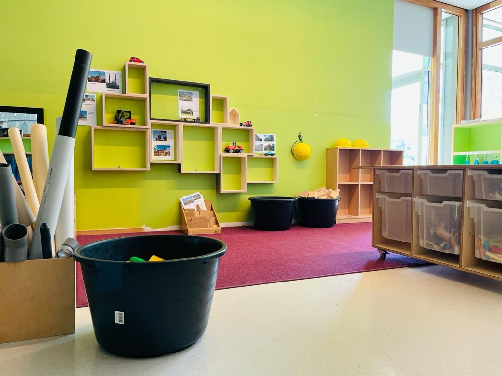 Interieur basisschool Rapenland