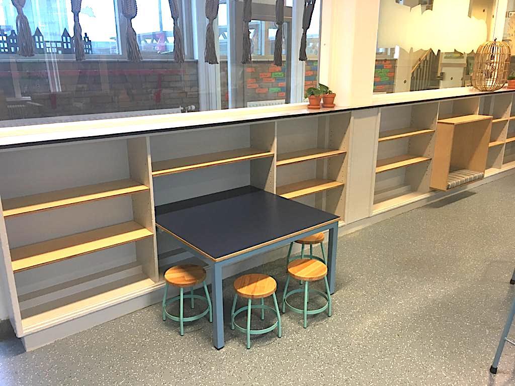 Interieur Van Hasseltschool