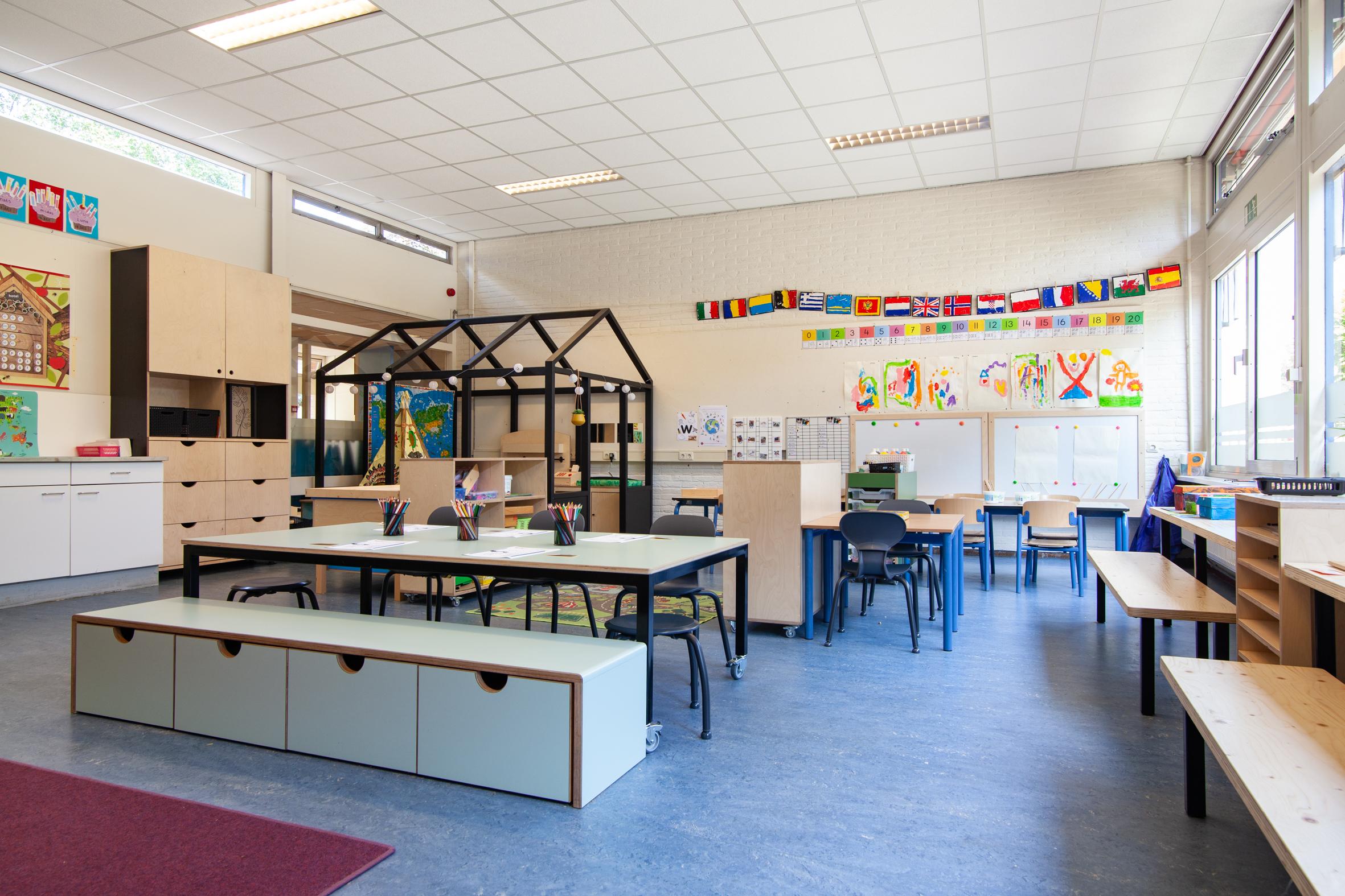 Interieur basisschool De Cirkel