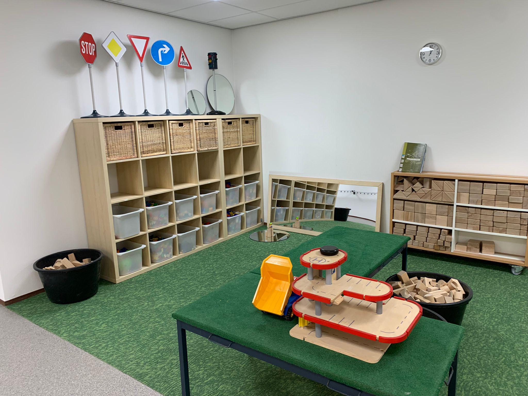 Interieur kindcentrum De Vlonder